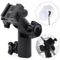 Metal Type E Flash Light Stand Umbrella Holder Bracket