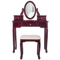 Termurah TOPMAX Flip Top Mirrors Makeup Dressing Table And
