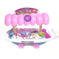 Mainan Anak Mainan Ice Cream Shop Trolley JSP F1 511