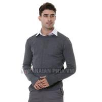VM Oblong Rajut Polos Panjang Sweater Pria