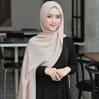 Jilbab Kerudung Hijab Pashmina Pasmina Wolfis Sabyan Murah Polos Katun