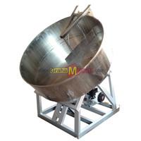 Mesin Granulator Pupuk Organik Stainless Steel
