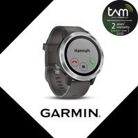 Garmin Vivo Active 3 Element Gray Garansi Resmi TAM 2 Tahun