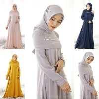 TH Maxi dress Casual /Gamis Casual /Baju Muslim Terbaru Murah Rana