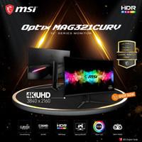 MSI Optix MAG321CURV Curved Gaming Monitor - 32 Inch 4K 60Hz 4ms