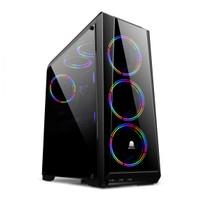 DIgital Alliance DA GAMING CHASSIS N21 with 3 RGB Fan - Aura Sync Case