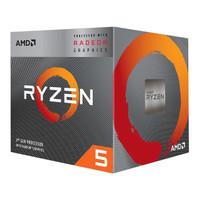 AMD Ryzen 5 3400G Radeon RX Vega 11 Graphics 4-Core 3.7 GHz AM4