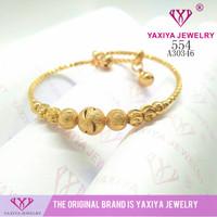 Gelang Tangan lapis emas perhiasan imitasi Jaxiya Jewelry 554