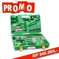 HARGA PROMO...! Mechanic Tools Set 100 Pcs Case Plastik Tekiro