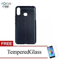 Case for Infinix Smart 3 Plus X627 - Black Focus Soft Case - Gratis Te