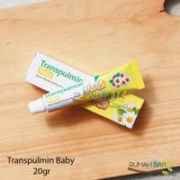 Transpulmin Baby 20g - Ringankan Hidung Tersumbat karena Flu