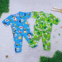 Piyama Kancing uk Bayi / Baju Tidur Bayi 3-12 month 3-12 bulan