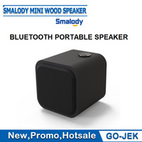 SMALODY MINI WOOD Bluetooth Speaker/ MINI Portable Speaker 1200 maH