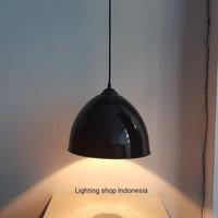 L863 lampu gantung minimalis kap putih kuning hitam merah biru hijau