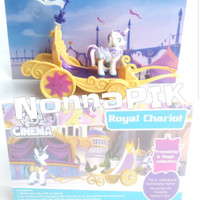 Mainan Anak My Lovely Horse Cinema Royal Chariot Figure Little Pony