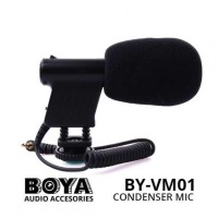 BOYA BY-VM1 - Mini Directional Video Condenser Microphone
