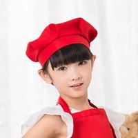 Topi Koki Topi Chef Anak bahan Drill