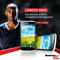 LENOVO S820 camera 12 megapixel resmi bergaransi