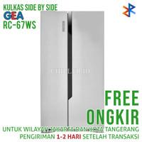 Kulkas Side By Side GEA RC-67WS Free Ongkir
