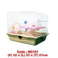 kandang hamster m0101