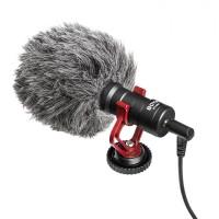 BOYA BY-MM1 - Shotgun Universal Cardioid On-camera Mini Microphone