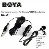 BOYA BY-M1 - Clip-on 3.5mm Omni Directional Lavalier Mini Microphone