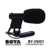 BOYA BY-VM1 - Mini Directional Video Condenser Microphone