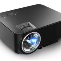 T20 LED Mini Multimedia Projector 1500 Lumens Support 1080p