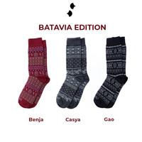 Kaos Kaki Sinau Socks Bundling 3 pasang
