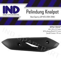 Cover Tutup-Tameng Pelindung Knalpot Beat Sporty eSP New FI-F1 2015