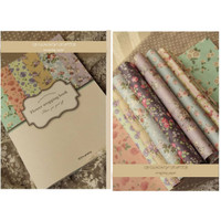 Kertas Kado / Wrapping Book / Prop Foto Alas Foto Bunga Shabby Chic