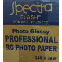 Spectra 24R x 30 Glossy u/Plotter Printer HP, Canon Epson