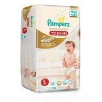 PAMPERSPREMIUM ACTIVE BABY PANTS L42 DIAPERS - POPOK CELANA SEKALI