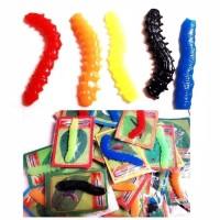 [CHILD] Ulat ulat an prank toy / surprise toy mirip asli
