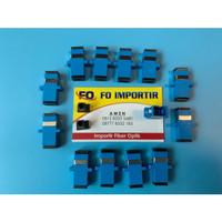 Adapter SC ADAPTOR SC/OPTIK/OPTIC/FO/FIBER (BAGUS) JAMIN BISA DIPAKE