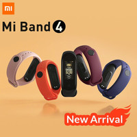 Mi Band 4 Original Xiaomi MiBand 4 Smart band Color AMOLED Display - H