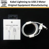 Lightning USB Apple 2 METER 2M Iphone 5 6 7 8 X Original Kabel Data