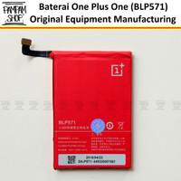 Baterai One Plus 1 One BLP571 Original OEM Oneplus 1 Batre One+ 1+