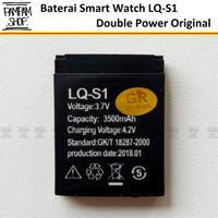 Baterai Smart Watch LQ-S1 LQS1 DZ09 U9 U10 A1 Mito 555 Double Power