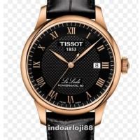 TISSOT T006.407.36.053.00 LE LOCLE POWERMATIC 80 BLACK LEATHER