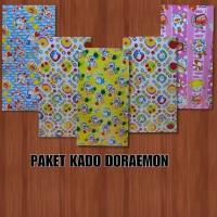 PAKET KERTAS KADO KIKY DORAEMON (50 LBR)