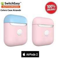Case Airpods 2 SwitchEasy Color Charging Original - Blue BabyPink