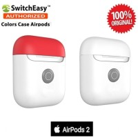 Case Airpods 2 SwitchEasy Color Charging Original - White Red