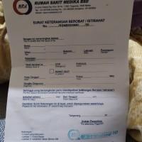 Surat Istirahat RS Medika BSD - Serpong