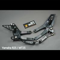 Footstep Underbone WR3 Yamaha R25 / MT25