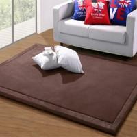 Karpet Alas Lantai dengan Bahan Fleece Coral dan Ukuran Besar untuk