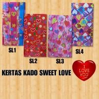 KERTAS KADO KIKY SWEET LOVE