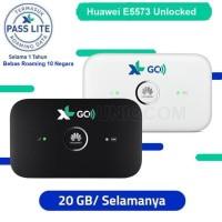 New Modem Mifi Huawei E5573 4G LTE 150MBps FDD850/1800 - Hitam