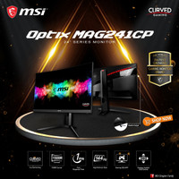 MSI Optix MAG241CP 24 Inch Curved Gaming Monitor - FHD 144Hz 1ms