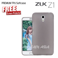 Softcase for ZUK Z1 - High Quality TPU GREY - FREE SP